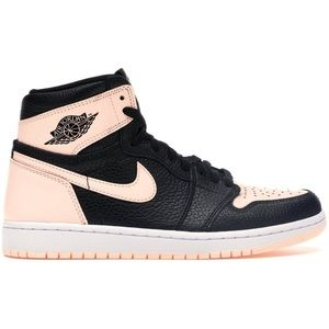Air Jordan 1 Crimson Tint Pink Black GS 7Y